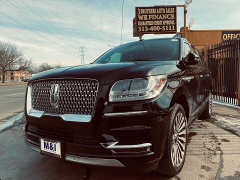 2018 Lincoln Navigator L for sale at 3 Brothers Auto Sales Inc in Detroit MI