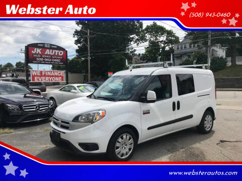 2017 RAM ProMaster City Cargo for sale at Webster Auto Sales in Webster MA