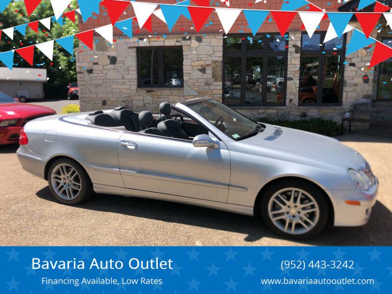 2008 Mercedes-Benz CLK for sale at Bavaria Auto Outlet in Victoria MN