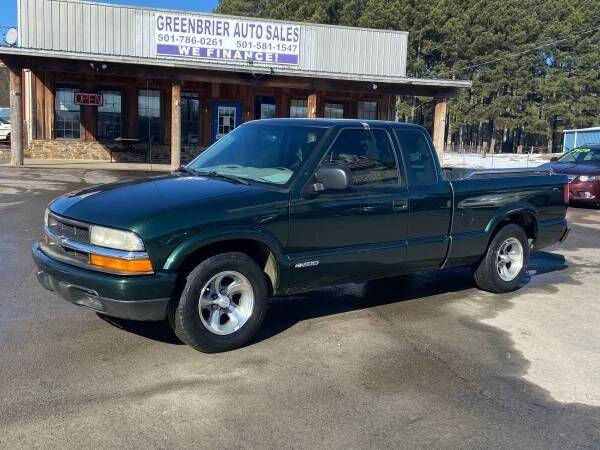 2003 Chevrolet S-10 for sale at Greenbrier Auto Sales in Greenbrier AR