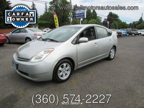 2005 Toyota Prius for sale at Hall Motors LLC in Vancouver WA