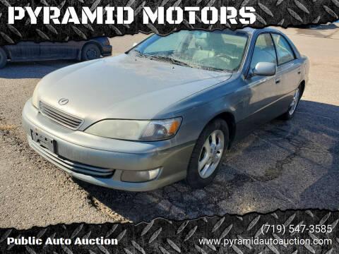 2001 Lexus ES 300 for sale at PYRAMID MOTORS - Pueblo Lot in Pueblo CO