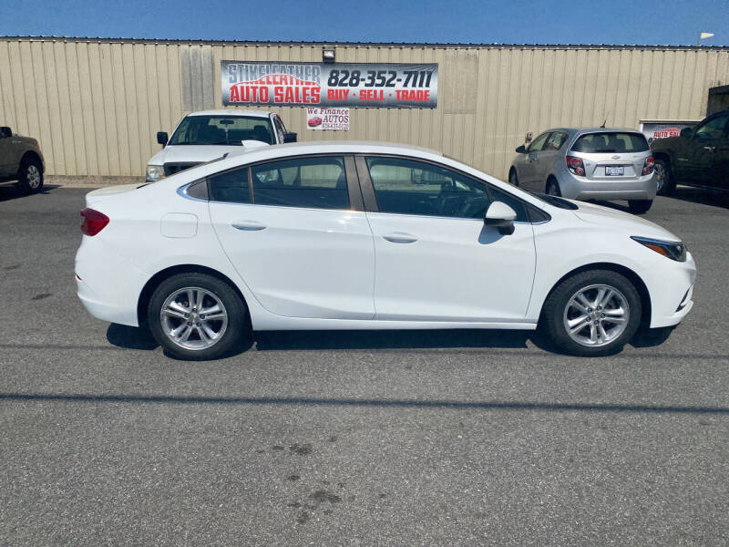 2017 Chevrolet Cruze for sale at Stikeleather Auto Sales in Taylorsville NC