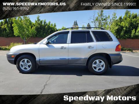 2002 Hyundai Santa Fe for sale at Speedway Motors in Glendora CA