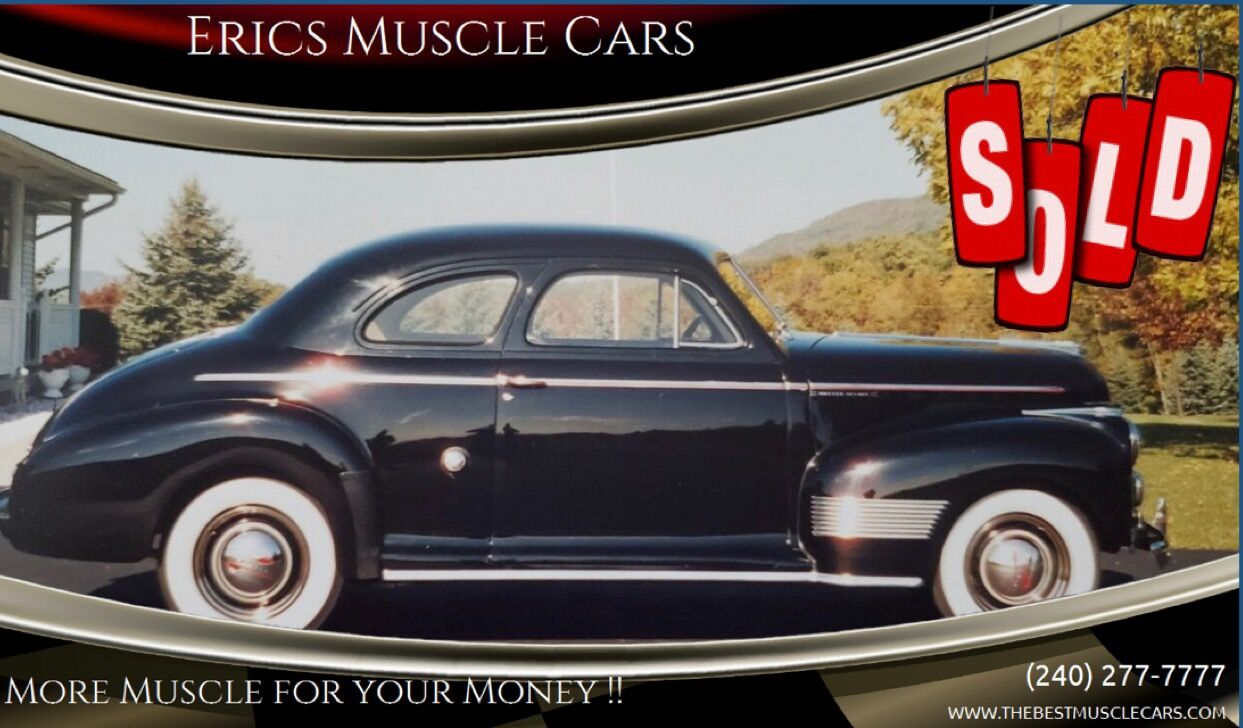 1941 Chevrolet Coupe SOLD SOLD SOLD