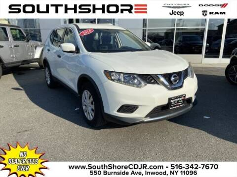2016 Nissan Rogue for sale at South Shore Chrysler Dodge Jeep Ram in Inwood NY