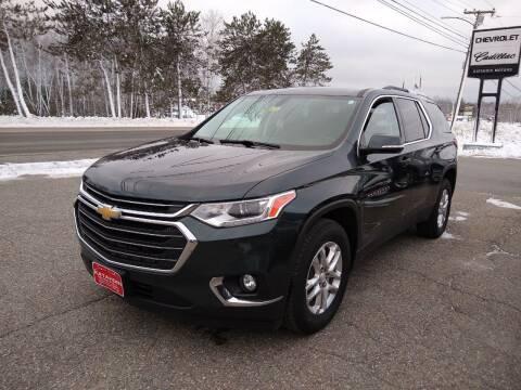 2018 Chevrolet Traverse for sale at KATAHDIN MOTORS INC /  Chevrolet Sales & Service in Millinocket ME
