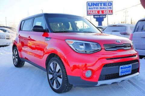 2018 Kia Soul for sale at United Auto Sales in Anchorage AK