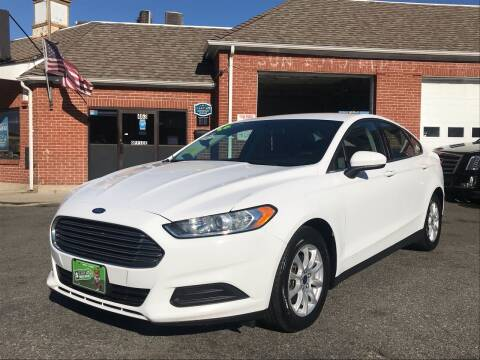 2016 Ford Fusion for sale at Real Auto Shop Inc. in Somerville MA