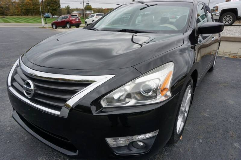 2015 Nissan Altima for sale at MyEzAutoBroker.com in Mount Vernon OH