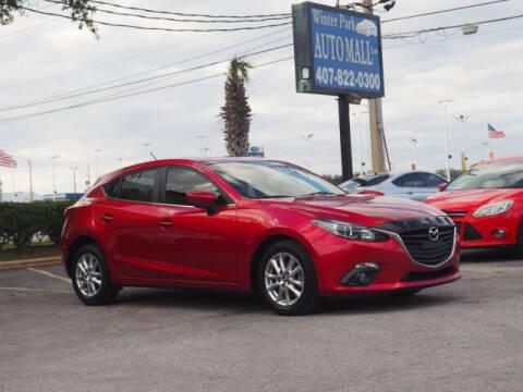 2016 Mazda MAZDA3 for sale at Winter Park Auto Mall in Orlando FL