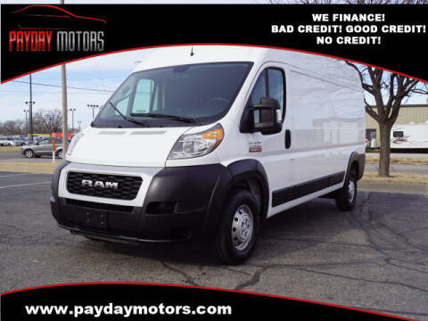 2019 RAM ProMaster Cargo for sale at Payday Motors in Wichita And Topeka KS