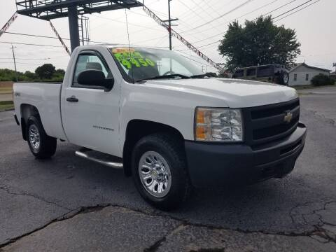 2010 Chevrolet Silverado 1500 for sale at Moores Auto Sales in Greeneville TN