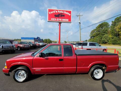 2003 Chevrolet S-10 for sale at Ford's Auto Sales in Kingsport TN