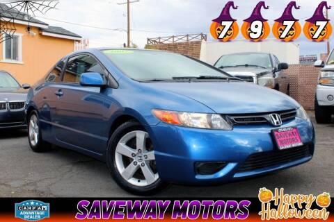 2007 Honda Civic for sale at Saveway Motors in Reno NV
