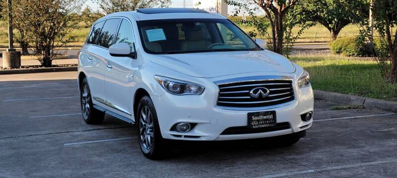 2014 Infiniti QX60 for sale at America's Auto Financial in Houston TX