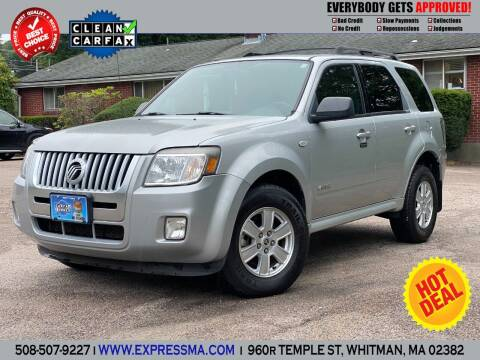 2009 Mercury Mariner for sale at Auto Sales Express in Whitman MA