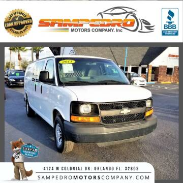 2013 Chevrolet Express Cargo for sale at SAMPEDRO MOTORS COMPANY INC in Orlando FL