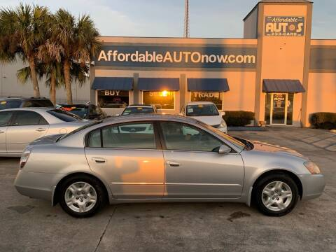 2002 Nissan Altima for sale at Affordable Autos in Houma LA