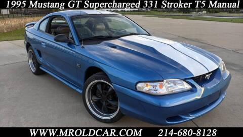 1995 Ford Mustang for sale at Mr. Old Car in Dallas TX