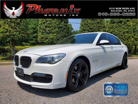 2015 BMW 7 Series for sale at Phoenix Motors Inc in Raleigh NC