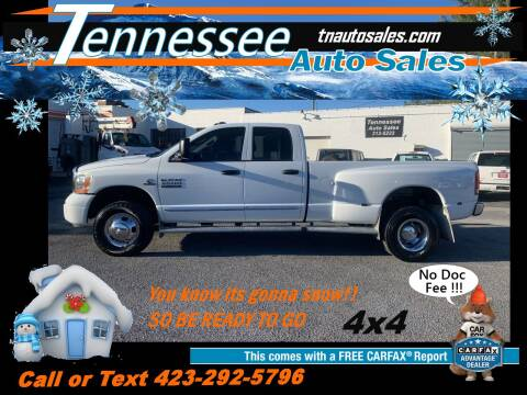 2006 Dodge Ram Pickup 3500 for sale at Tennessee Auto Sales in Elizabethton TN