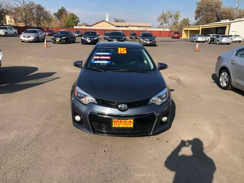 2015 Toyota Corolla for sale at Mega Motors Inc. in Stockton CA