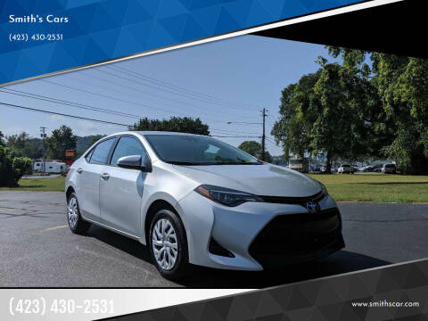 2018 Toyota Corolla for sale at Smith's Cars in Elizabethton TN
