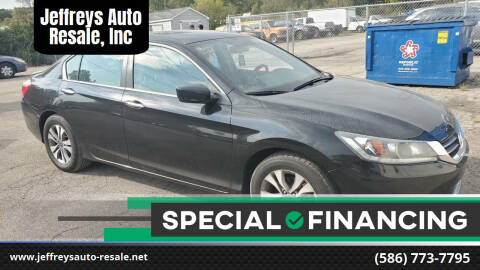 2014 Honda Accord for sale at Jeffreys Auto Resale, Inc in Clinton Township MI