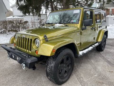 2008 Jeep Wrangler Unlimited for sale at Amicars in Easton PA