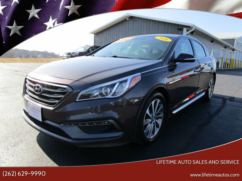 2016 Hyundai Sonata for sale at Lifetime Auto Sales and Service in West Bend WI
