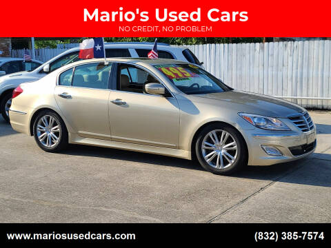 2012 Hyundai Genesis for sale at Mario's Used Cars - South Houston Location in South Houston TX