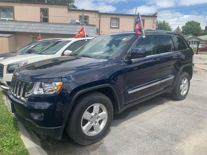 2012 Jeep Grand Cherokee for sale at Triangle Auto Sales in Omaha NE