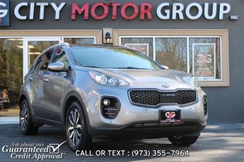 2017 Kia Sportage for sale at City Motor Group, Inc. in Wanaque NJ