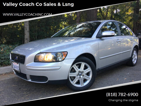 2007 Volvo S40 for sale at Valley Coach Co Sales & Lsng in Van Nuys CA