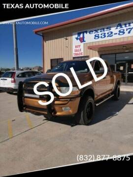 2012 RAM Ram Pickup 1500 for sale at TEXAS AUTOMOBILE in Houston TX