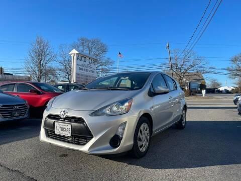 2015 Toyota Prius c for sale at Auto Cape in Hyannis MA
