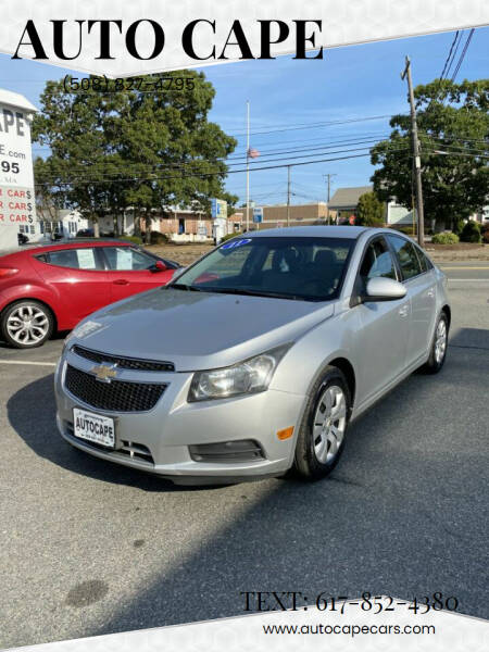 2011 Chevrolet Cruze for sale at Auto Cape in Hyannis MA