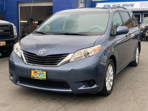 2013 Toyota Sienna for sale at AGM AUTO SALES in Malden MA