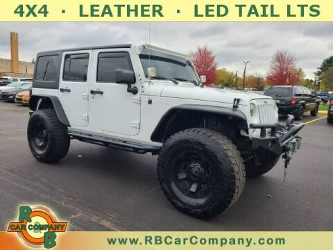 2015 Jeep Wrangler Unlimited for sale at R & B Car Company in South Bend IN
