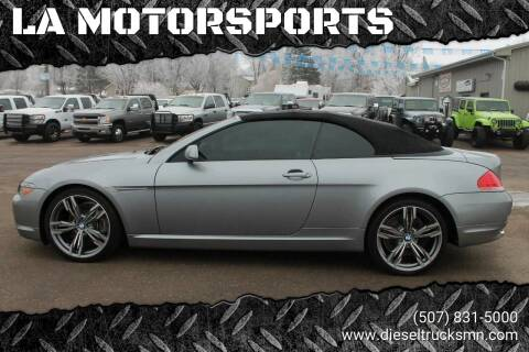 2004 BMW 6 Series for sale at LA MOTORSPORTS in Windom MN