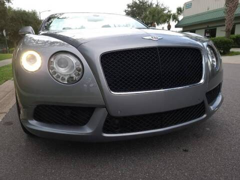 2013 Bentley Continental for sale at Monaco Motor Group in Orlando FL