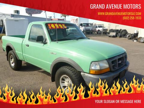 1998 Ford Ranger for sale at Grand Avenue Motors in Phoenix AZ