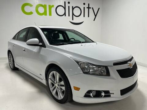2013 Chevrolet Cruze for sale at Cardipity in Dallas TX