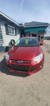 2014 Ford Focus for sale at MGM Auto Sales in Cortland NY