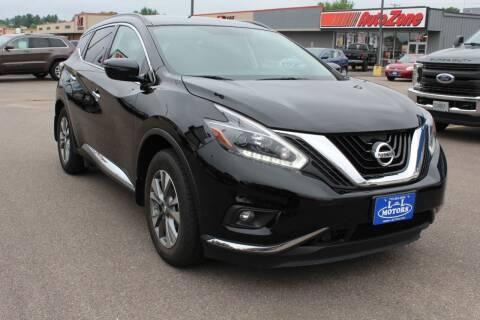 2018 Nissan Murano for sale at L & L MOTORS LLC - REGULAR INVENTORY in Wisconsin Rapids WI