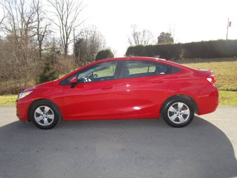 2017 Chevrolet Cruze for sale at Variety Auto Sales in Abingdon VA