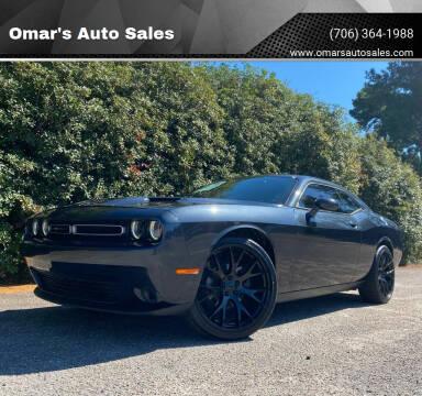 2019 Dodge Challenger for sale at Omar's Auto Sales in Martinez GA