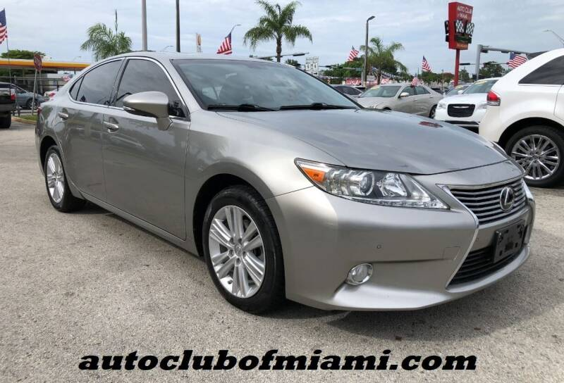 2015 Lexus ES 350 for sale in Miami, FL