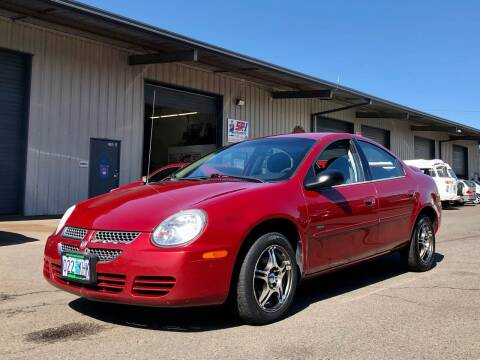 2005 Dodge Neon for sale at DASH AUTO SALES LLC in Salem OR